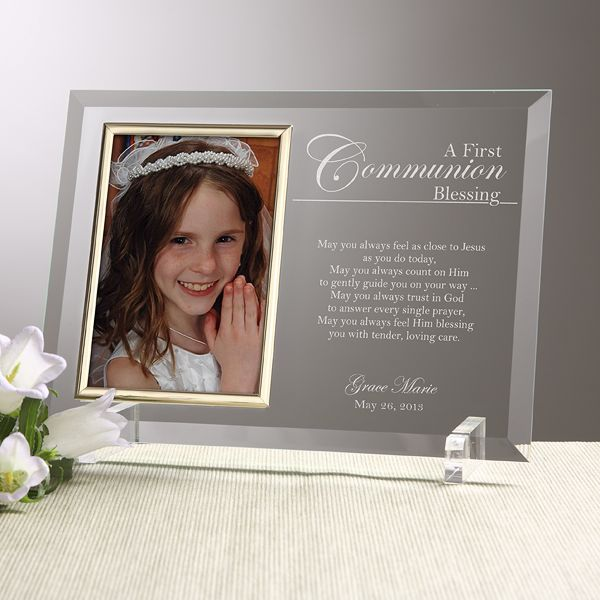 12770 - A Communion Blessing Personalized Frame