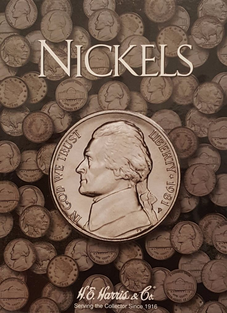 Continue your nickel album collection with the official Nickels collecting coin album. Great for organizing, displaying, and sorting your coin collection.