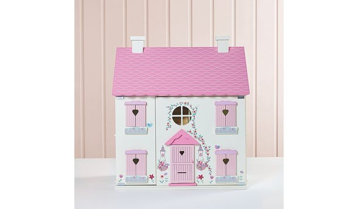 Buy George Home Wooden Dolls House and Large Furniture Set from our View All Toys range today from George at ASDA.