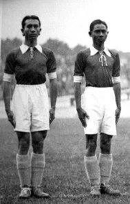 Pemain Kesebelasan Nederland Indie di Piala dunia 1938