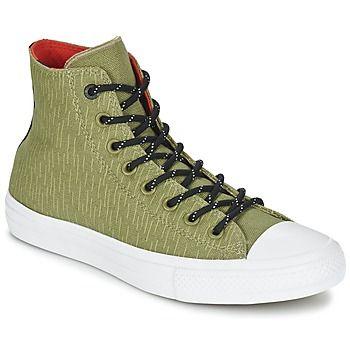 legendarische Converse chuck taylor all star ii shield canvas hi heren sneakers (Groen)