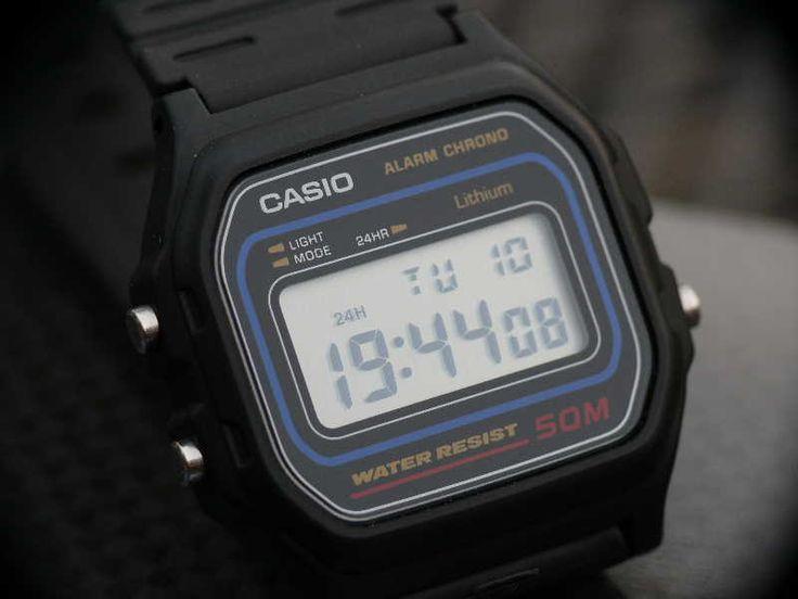 Casio W-59-1VQES ...eine Zeitreise - UhrForum