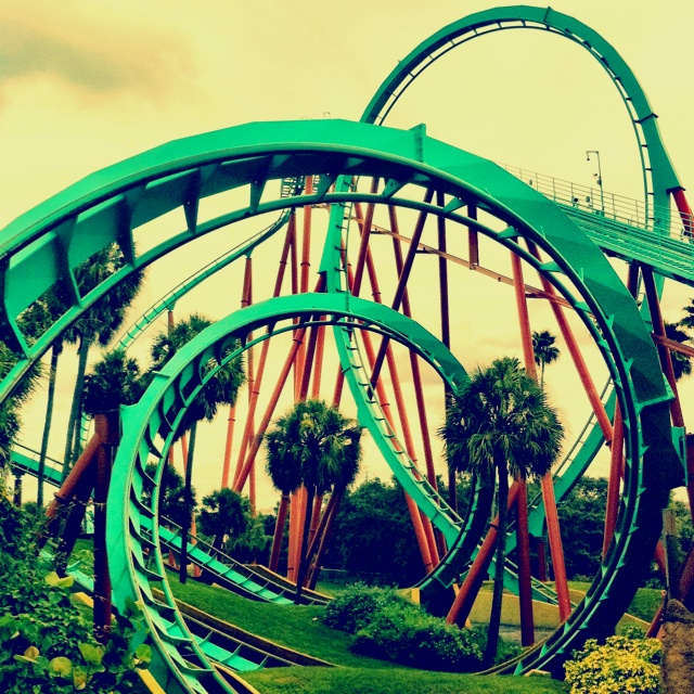 #127 Ride the largest, longest, fastest roller coaster in the world    ^^ Kumba is NONE of the above. ha.