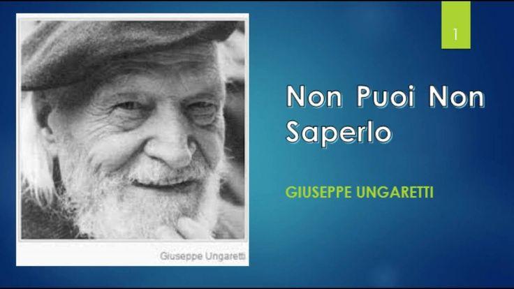 Giuseppe Ungaretti - Parte I (L'Egitto, La Voce, La Grande Guerra, Il po...