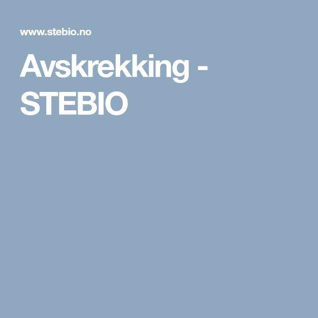 Avskrekking - STEBIO