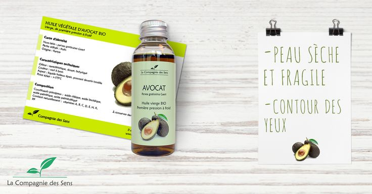 Connaissez-vous tous les bienfaits de l'huile végétale d'Avocat en cosmétique ? #avocat #HV #cosmetique
