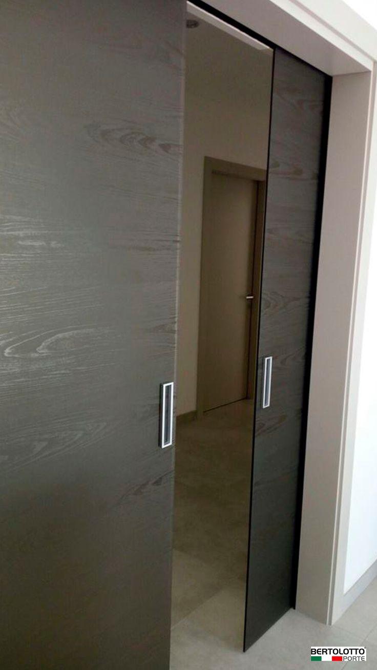 Double Alaska Interior Bertolotto sliding door- Porta Da ...