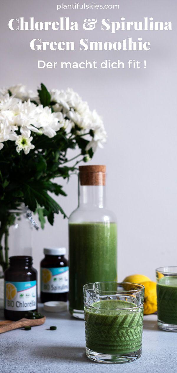 Grüner Saft, um in 7 Tagen Gewicht zu verlieren