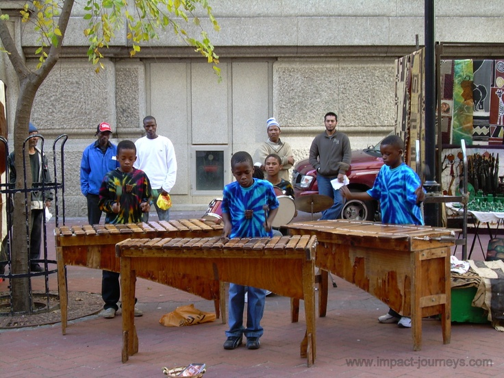 talented street musicians in Cape Town, South Africa