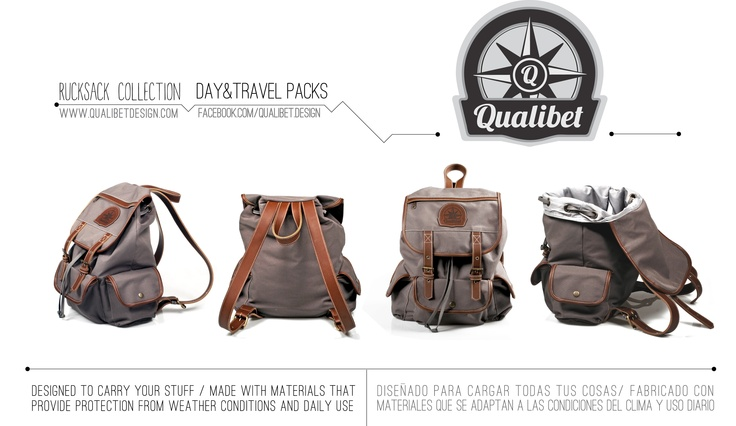 /Product Detail/  QUALIBET Rucksack Collection F/W 2012 *Available now * Follow us on FB. facebook.com/qualibet.design -All rights reserved-