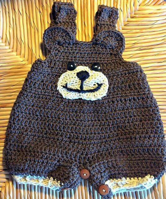 Animal Coveralls pattern by Melissa R. M. Frank   Crochet
