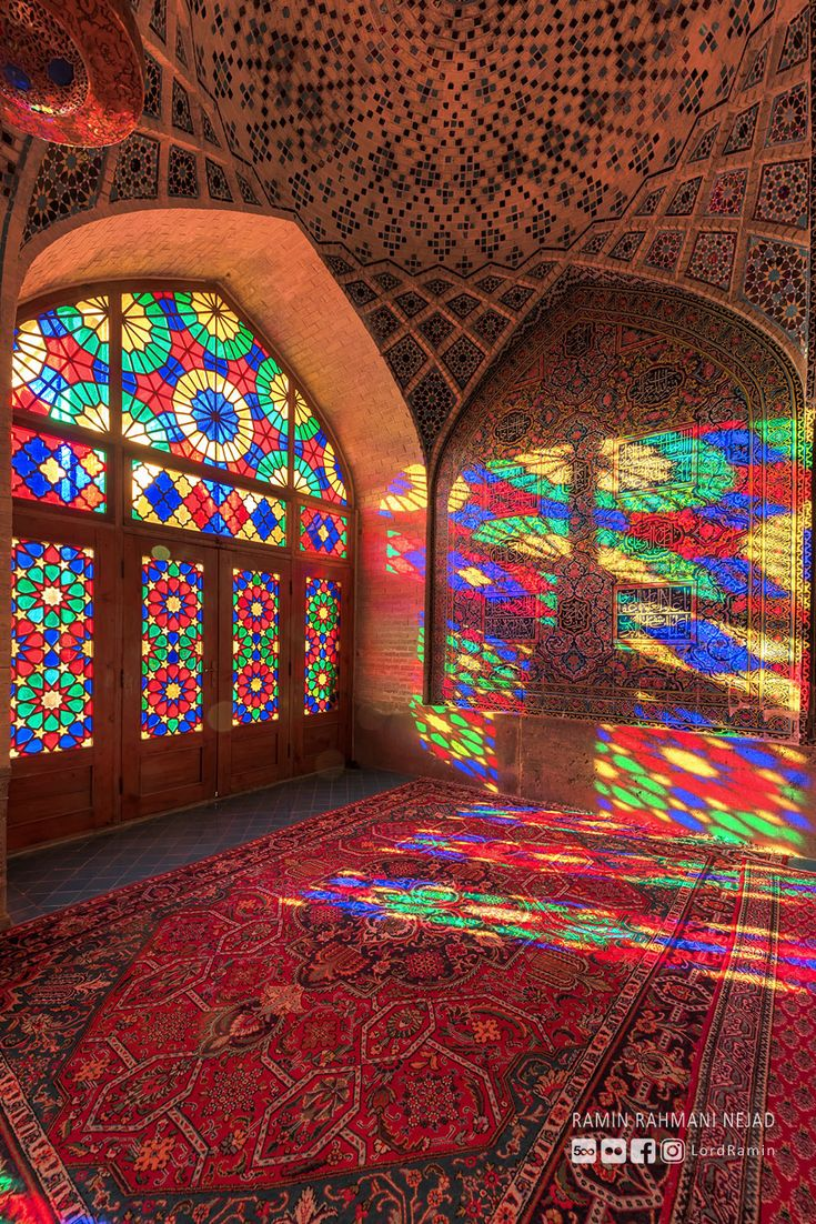 The Mosque of Colors. - by Ramin Rahmani Nejad