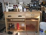 Benchtop lathe stand/cabinet