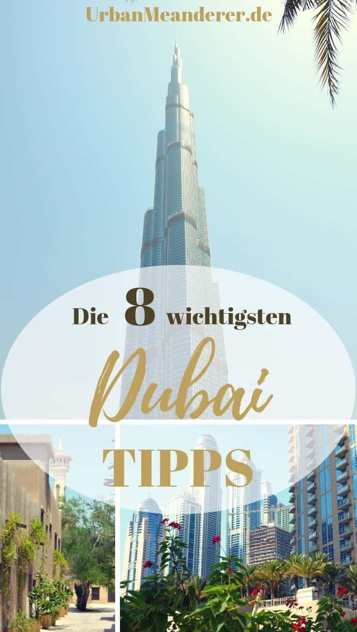 Dubai Guide: 8 unverzichtbare Dubai Reisetipps, die du kennen solltest
