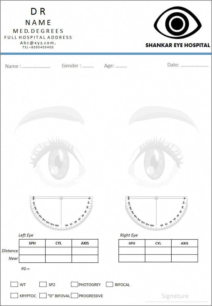 Free fancy prescription design - ophthalmologist #ophthalmologist