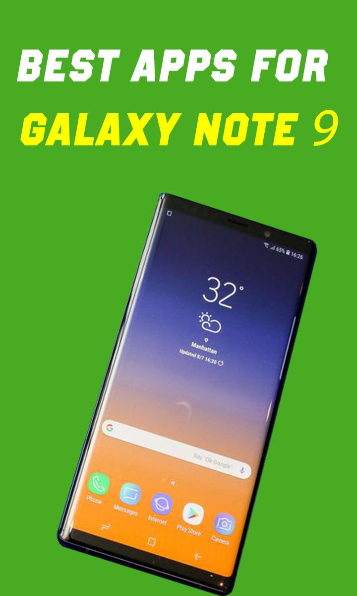 Best Apps For Note 9 | Best Smartwatch And Smartphones To Buy