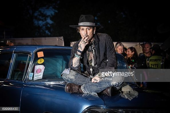Celebs Spotted at Glastonbury 2017 Johnny Depp, Cara Delevingne, Margot Robbie and more were seen at the Photo Album   Getty Images