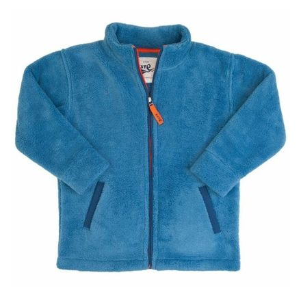 KK Zip Through Fleece Blue