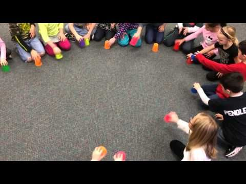 Bobby Shafto - YouTube cup passing game. Great game for keeping a steady beat in 1st and 2nd grade