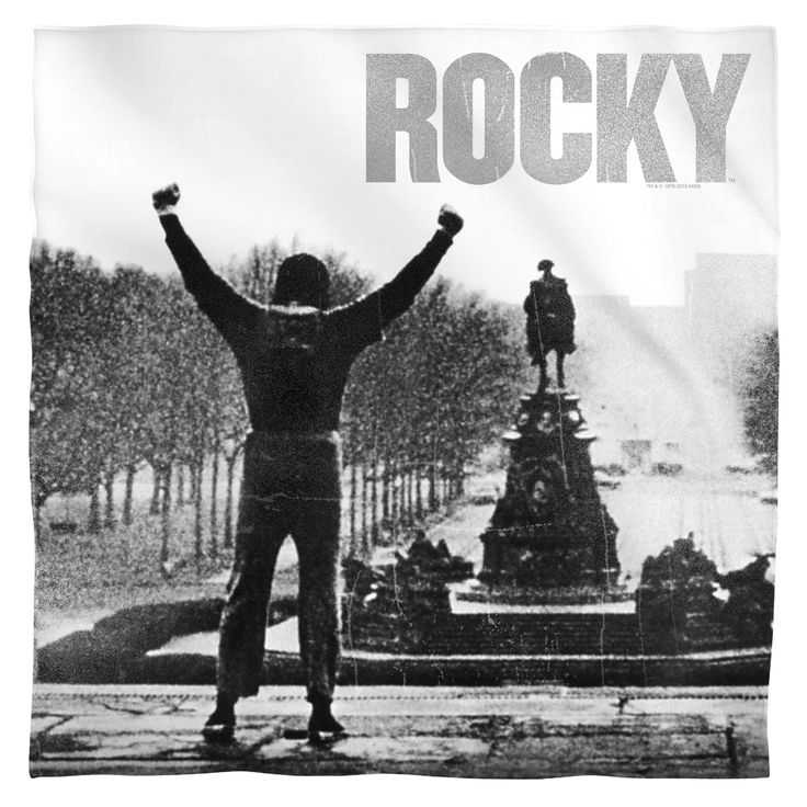 "Checkout our #LicensedGear products FREE SHIPPING + 10% OFF Coupon Code ""Official"" Rocky/Poster-Bandana -White-One Size - Rocky/Poster-Bandana -White-One Size - Price: $19.99. Buy now at https://officiallylicensedgear.com/rocky-poster-bandana-white-one-size"