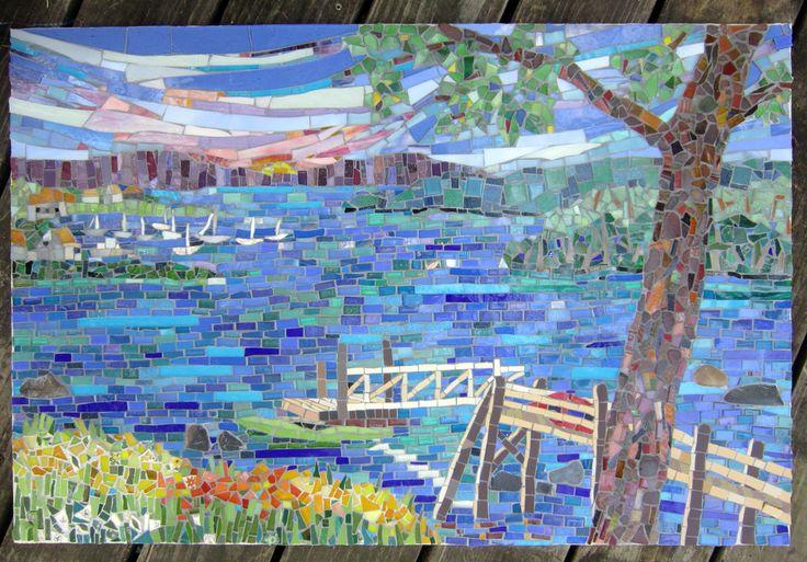 Kitchen Mosaics By Mosaic Artist Cynthia Fisher