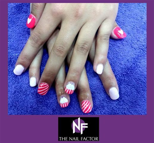 Done at The Nail Factor Gateway! #NailFactorMoments #gelpolish  #nails #cool #nail #gelart #gelnails #nailart #instanails #gel  #nailgasm  #todaysnails  #manicure  #nailswag #nailpolish