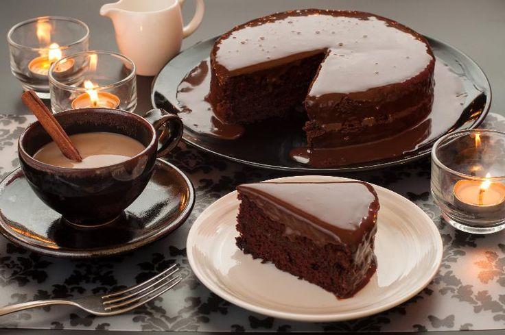 Čokoládový dort | Fotorecepty.cz