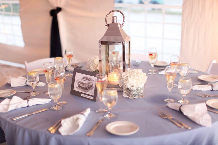 beachy centerpieces | Unique Event Design, LLC: UNIQUE Wedding: Nicole & Jeff at the Hilton ...
