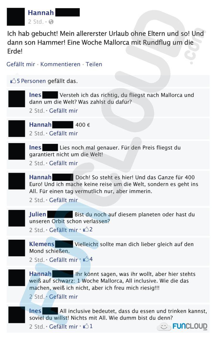 Wenn man die deutsche Sprache nicht beherrscht und dann noch englische Wörter vorkommen, kann es schon zu Missverständnissen kommen.  Facebook Fail des Tages 03.04.2016