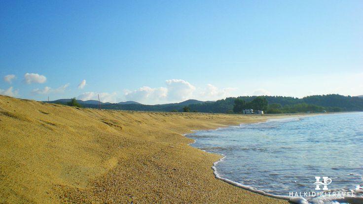 #Tristinika #beach in #Halkidiki. Visit www.halkidikitravel.com for more info. #HalkidikiTravel #travel #Greece