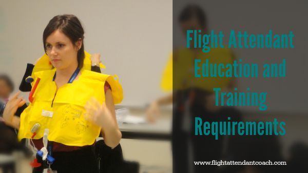 Not sure what pre-requisites are needed to become a flight attendant? I'm breaking down all the education and training requirements in this post. #becomeaflightattendant #flightattendantjobs