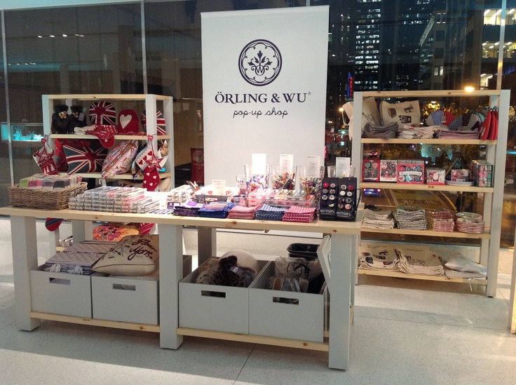 Orling & Wu seasonal pop-up at Holts Vancouver until Christmas Eve! #RetailersWithSabre