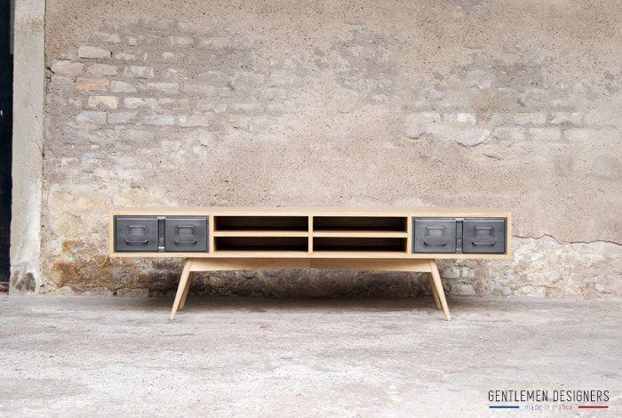 25 best meuble tv gris ideas on pinterest peindre des meubles en blanc ik - Meuble tv anthracite ...