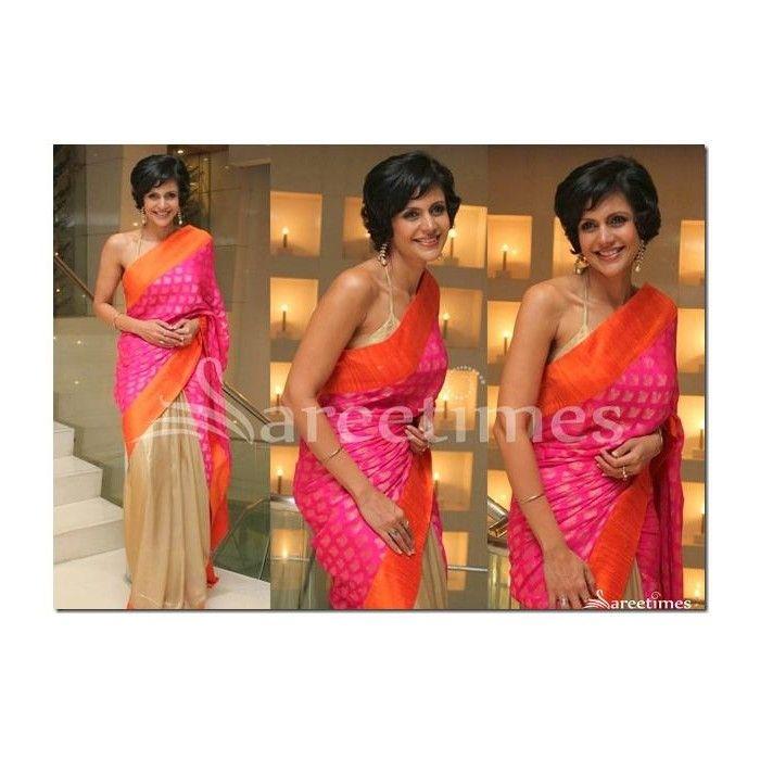 Bollywood, Half & Half Saree