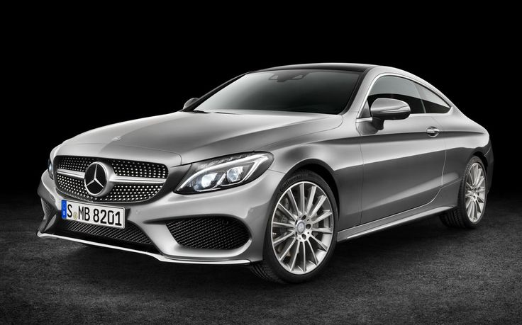 Mercedes-Benz previewed the coupe version of its latest C-class model ahead of its unveiling during September's Frankfurt auto show.