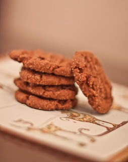 DAY 1: Bacon Ginger Cookies.