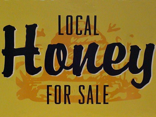 Local Honey for sale at Buffal Ridge Trading Post! The perfect natural sugar! #oldcoloradocity #coloradosprings #honey