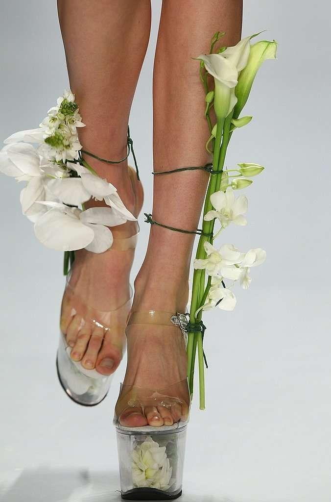 Platform Shoes as Flower Vases - Scherer Gonzales Spring 2009 (GALLERY)