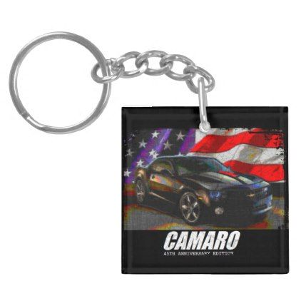 2012 Camaro 45th Anniversary Edition Keychain - accessories accessory gift idea stylish unique custom