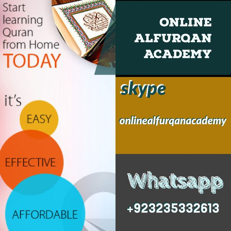 3 DAYS FREE TRAIL CLASSES. WE ARE HIGHLY QUALIFIED FROM INTERNATIONAL ISLAMIC UNIVERSITY ISLAMABAD, PAKISTAN QURAN READING WITH TAJWEED, QURAN TRANSLATION AND EXPLANATION, ARABIC LANGUAGE AND ISLAMIC STUDIES, THESE CLASSES WE ARE PROVIDING  SKYPE: onlinealfurqanacademy WHATSAPP: +923235332613 BLOG: https://usuluddinfaculty.blogspot.com/