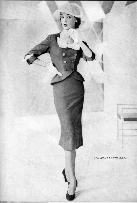 Vogue 1951 - The Summer Suit Editorial