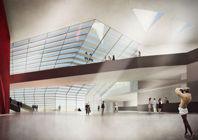 CITTA' DELL'ARTE E DELLA MUSICA - f-lab architettura