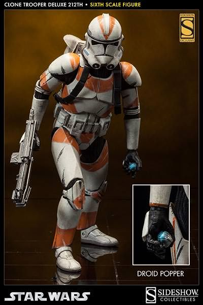 SIDESHOW COLLECTIBLES CLONE TROOPERS UNLEASHED