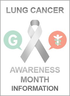 Lung Cancer Awareness Month Information