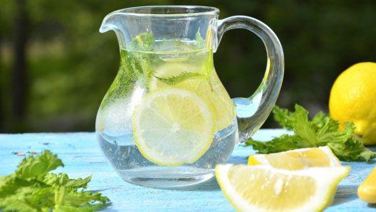 Лимонная детокс-вода для красоты и здоровья