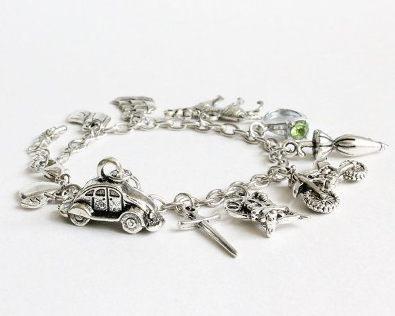 OUAT Characters Charm Bracelet by CissyPixie on Etsy, $13.50