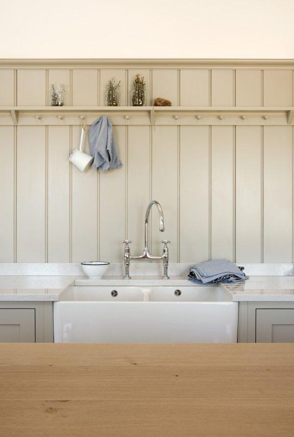 Devol kitchens blog warickshire barn renovation shaker for Barn style kitchen sink