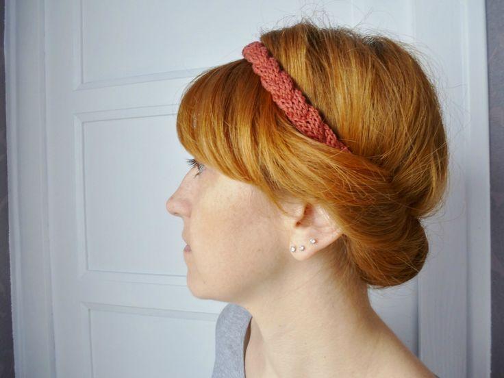Headband tressé - par Aline au pays des mailles