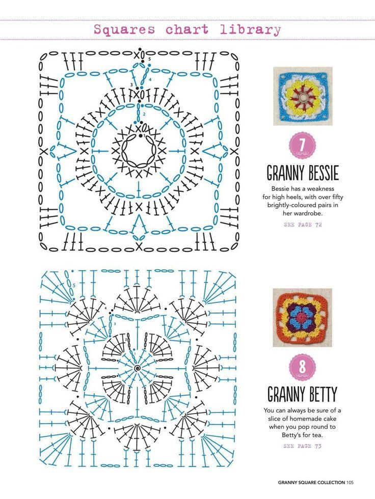 18 mejores imágenes de CrochetJoins en Pinterest | Ganchillo ...