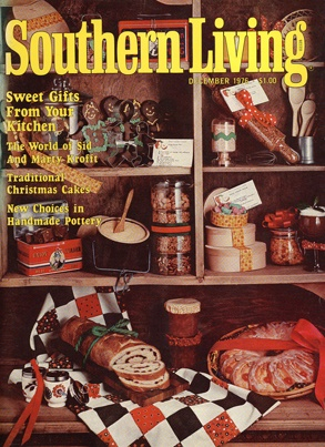 December 1976 | Sweet Gifts From Your Kitchen: Southern Living, Born In 1976, Sweet Gifts, Living Covers, Vintage Southern, December 1976